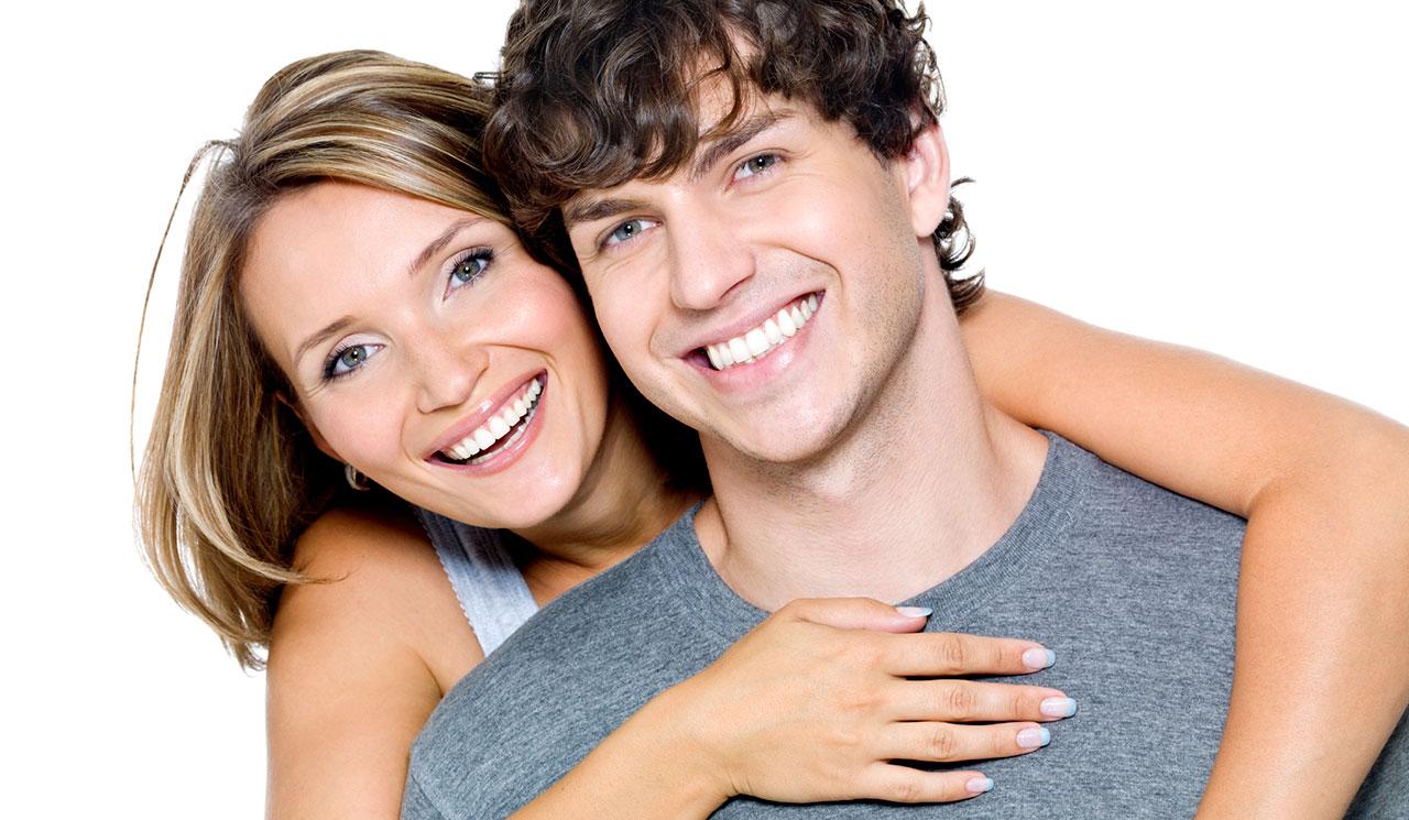 Молодой парень и женщина фото