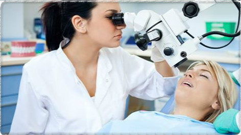 Процесс лечения периодонтита