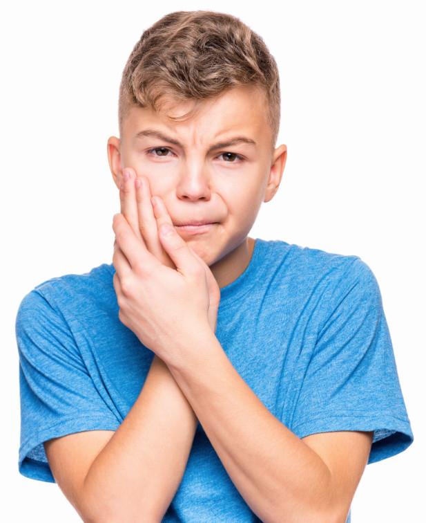 Зубная боль из-за флюса