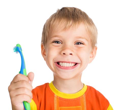 Детские зубные порошки