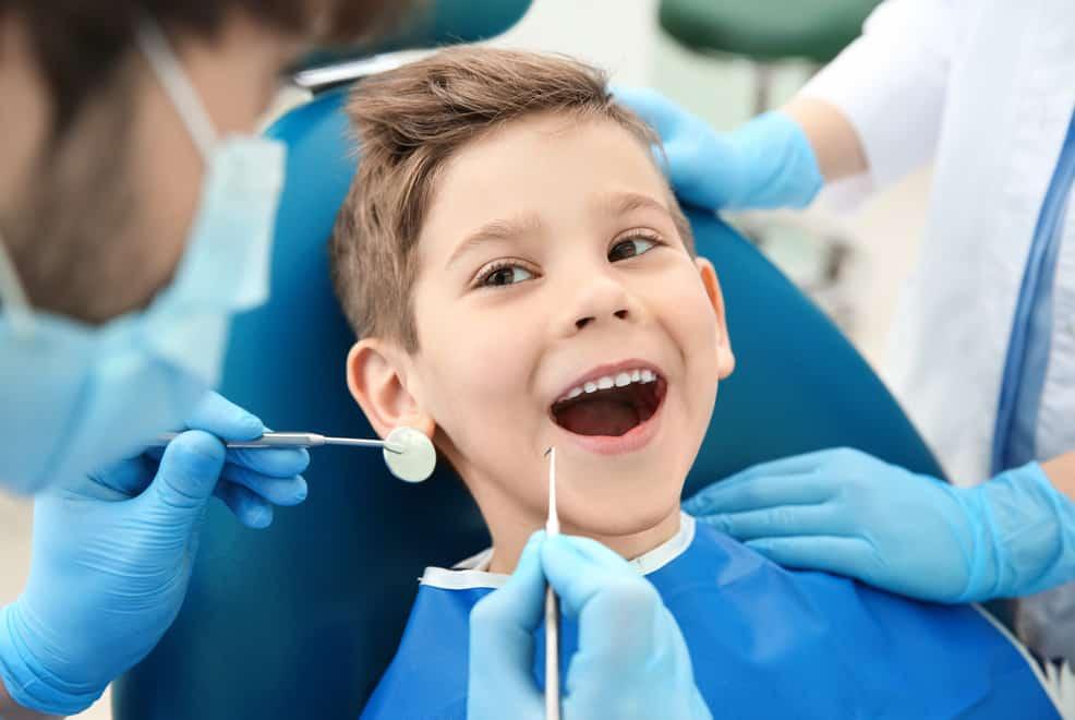 Профессиональная гигиена полости рта у детей фото